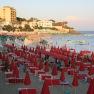 The beach at Santa Marinella
