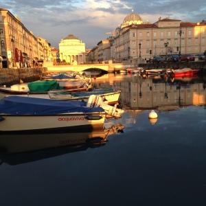 Trieste, by X